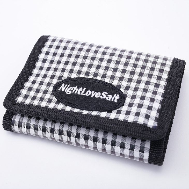 NLS pattern wallet Ginghamcheck