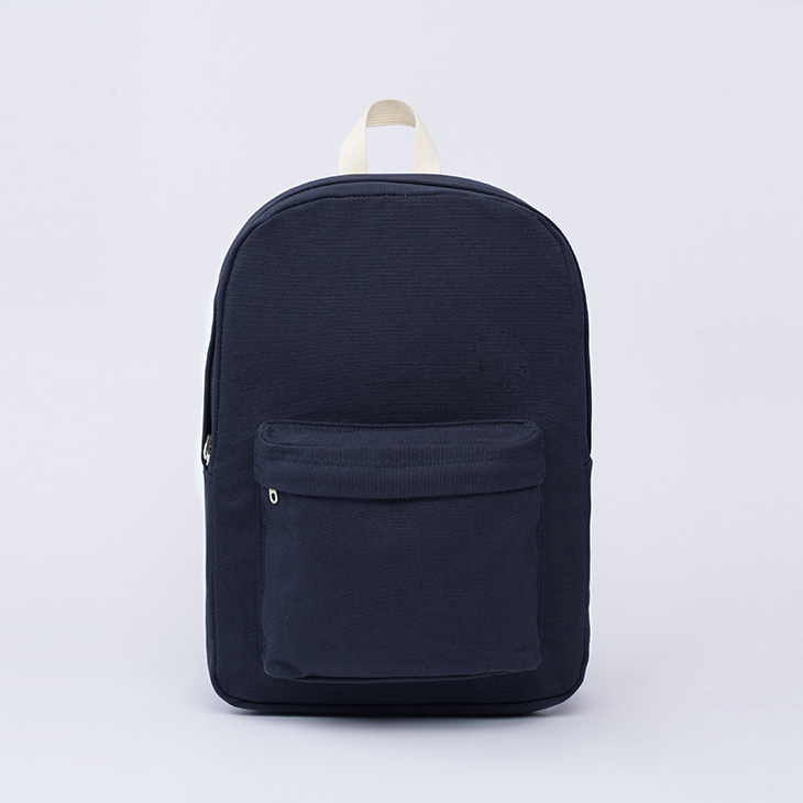 NLS canvas backpack [Navy]