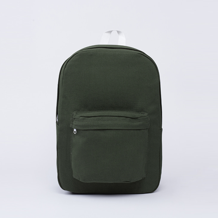 NLS canvas backpack [Khaki]
